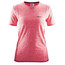 Craft Active Comfort RN SS Shirt Women Crush